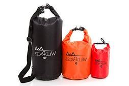 WildPaces Super Value Set of 3 Waterproof Dry Bags 10L 5L 2L