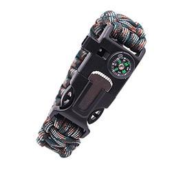 Survival Bracelets, Inkach Parachute Cord Survival Bracelet