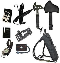 Ultimate Arms Gear Survival Camping Hiking Kit: Sharpener, H