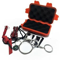Survival Gear Tool Kits Emergency First Aid Kit Set Self-hel