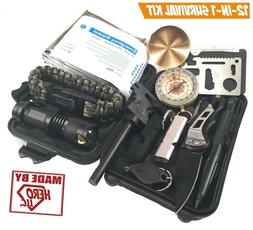 Survival Kit Military Tactical Gear Outdoor Tools camping wi