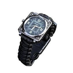 Dreamyth New Outdoor Survival Kit Paracord Wrist Watches Com
