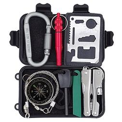 Outdoor Survival Kit for Camping Hiking Hunting Travel Selfh