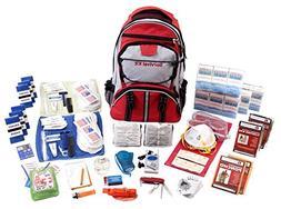 Guardian Survival Gear Hiker's Deluxe Emergency Kit, Red Bac