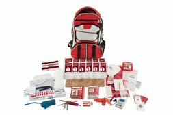 Guardian Survival Gear Hiker's Deluxe Emergency Kit, Red Bac