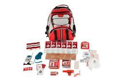 Guardian Survival Multi-Pocket Hiker's Emergency Kit, Red Ba
