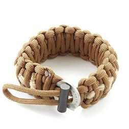 X-Plore Gear Survival Paracord 550 Bracelet With Fire Starte