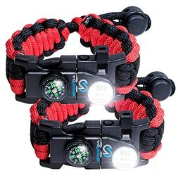 Nexfinity One Survival Paracord Bracelet - Tactical Emergenc