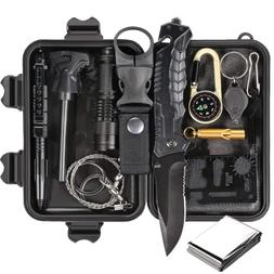 Survival Tools Gear Set Tactical Kit Accessories Camping Out