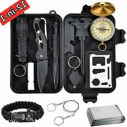 survival tools kit 12 in 1 tactical
