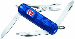 Victorinox Swiss Army Midnite Manager Pocket Knife, Sapphire