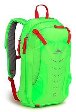 High Sierra Symmetry 18 Adventure Pack, Lime/Red Line