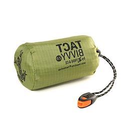 TACT Bivvy Emergency Survival Sleeping Bag - Lightweight, Wa