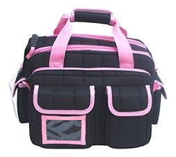 EXPLORER Tactical 12 Pistol Padded Gun and Gear Bag Pink