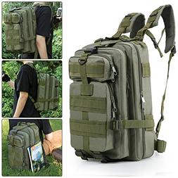 BIENNA Tactical Backpack, 3P Military Rucksack Bug Out Bag 3