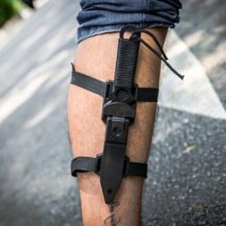 Tactical Blade Knife Camping Survival Sports Leggings Huntin