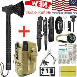Tactical Camping Axe Survival Kits Outdoor Hunting Tactical