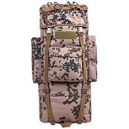 KEXKL Outdoor 100L Large Capacity Tactical Climbing Backpack