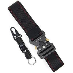Hosenhan Tactical Duty Belt Black Red Utility CQB Belt Milit