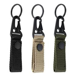 Edapter Tactical Gear Clip Band Gear Keeper Pouch Key Chain