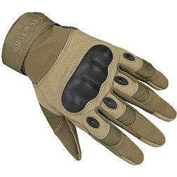 FREE SOLDIER Tactical Hard Knuckle Gloves Military Green Glo