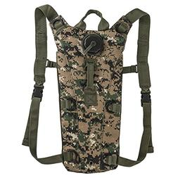 3L Tactical Hydration Pack Lightweight Bladder Water Pouch B