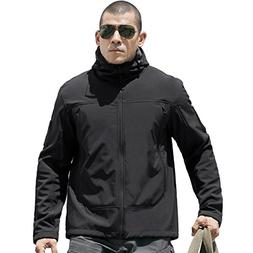 FREE SOLDIER Tactical Jacket Soft Shell Fleece Lined Water R