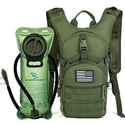 SHARKMOUTH Tactical MOLLE Hydration Pack Backpack 900D with