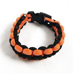 ASR Outdoor - Tactical Paracord Bracelet 550lb Strength - Or