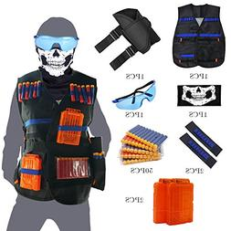 Tactical Vest Kit for Nerf Guns N-Strike Elite Series with V