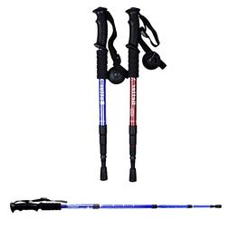 2PCS Trekking Poles Sticks,  Hiking & Walking Pole With Comp
