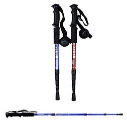 2PCS Trekking Poles Sticks,  Hiking & Walking Pole With Comp