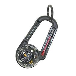 Sun Company TempaComp - Ball Compass and Thermometer Carabin