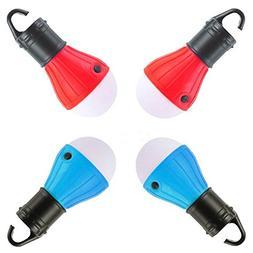 Viewpick 4 Pack LED Tent Lamp Portable Waterproof Emergency