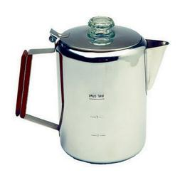 Tex Sport Percolator, Stainless Steel 9 Cup
