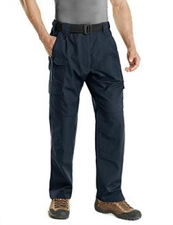 CQR CQ-TLP105-NVY_40W/32L Men's Tactical Pants Lightweight E