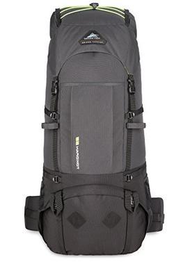 High Sierra Tokopah Backpack, Raven/Black/Zest, 55 L