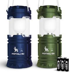 MalloMe LED Torches Camping Lantern Flashlights Backpacking