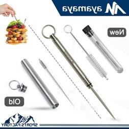 Travel Camping EDC Gear Reusable Nontoxic Titanium Toothpick