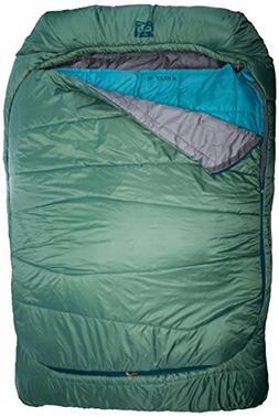 Kelty Tru.Comfort 20 Degree Double Wide Sleeping Bag, Fern