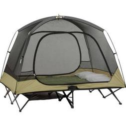Ozark Trail Two-Person Cot Tent Sleeps 2 Included gear loft