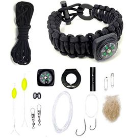 The Ultimate Paracord Survival Kit Bracelet