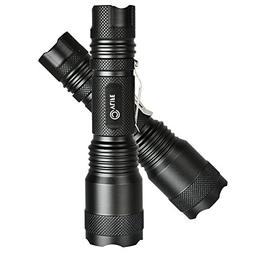 CVLIFE Ultra Bright LED Tactical Flashlight 5 Light Modes an