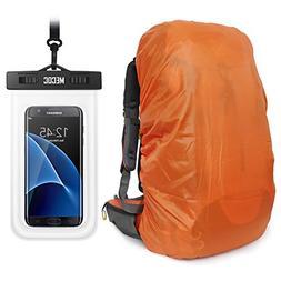 Orange Sport Ultra Light Backpack Rain Cover