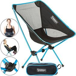 ONWEGO Ultralight Outdoor and Camping Chair - Lightweight, P