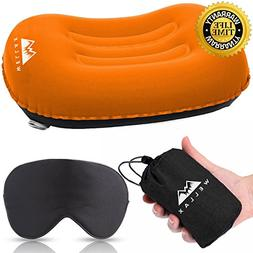 WellaX Ultralight Camping Pillow - Compressible, Compact, In