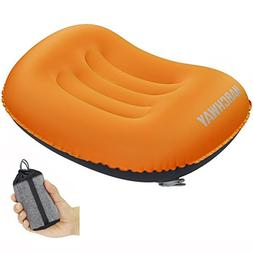MARCHWAY Ultralight Compact Inflatable Camping Pillow, Soft