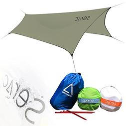 Serac  Ultralight Hammock Rain Fly and Shelter perfect for w