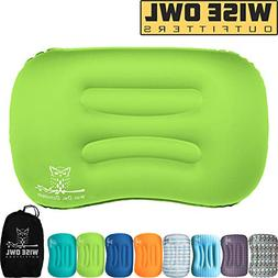 Wise Owl Outfitters Ultralight Inflatable Air Camping Pillow