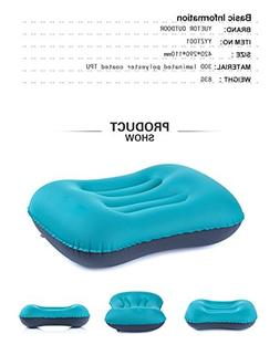 Ultralight Inflating Travel/Camping Pillows - Compressible,